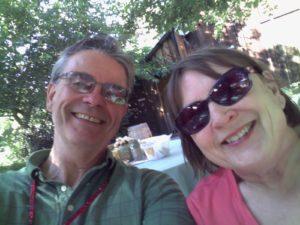 Mayor Martin and wife, Jennifer